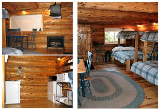 Small cabin decorating ideas and design plans03 - Log cabin interior design ideas ...