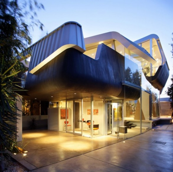 Dynamism ultra modern house design ideas architecture and interior