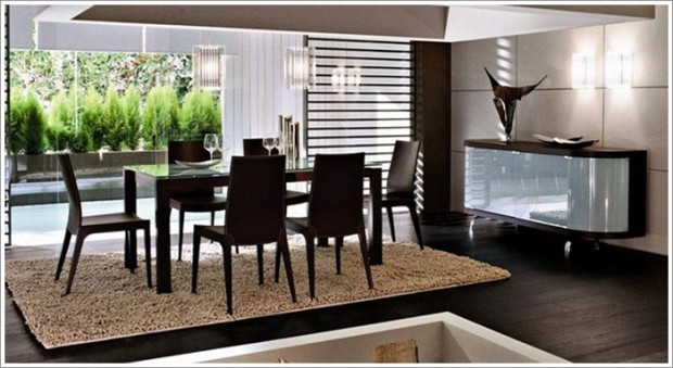 Lighting dining room table